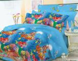 Постельного белья 2 - Комплект постельного белья детский, поплин (100% хлопок)