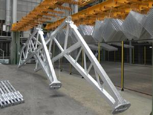 Услуга горячего цинкования - Горячее цинкование металлоконструкций, вес единицы