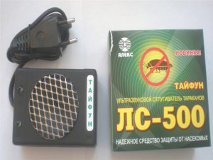 Ультразвуковой электронный отпугиватель тараканов Тайфун ЛС 500