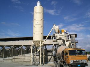 Стационарные бетонные заводы из Италии - Стационарный бетонный завод 80 м3/час