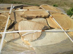 Камень природный Цветной песчаник натуральный пластушка