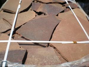 Камень натуральный пластушка песчаник природный - Камень Обожжённый природный на
