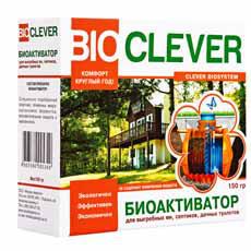 Биоактиватор для очистки, обработки септиков, сливных, выгребных ям Bioclever