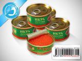 Морепродукты 02 - Икра красная лососевая зернистая горбуши (жестяная банка)