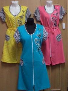 """Женская одежда - 4 - Халат трикот. """"бабочка"""" р 46-60"""