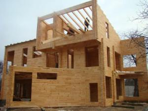Продукция из клееного бруса - Комплекты деревянных домов из клееного бруса