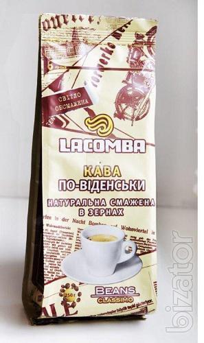Натуральный кофе и кофейные напитки - Кофе натуральный жареный Hо-венски