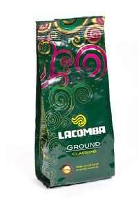Натуральный кофе и кофейные напитки - Кофе натуральный жареный молотый  Lacomba
