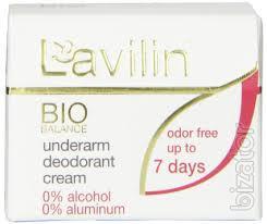 Дезодоранты Lavilin (Лавилин) - Крем-дезодорант для тела длительного действия (д