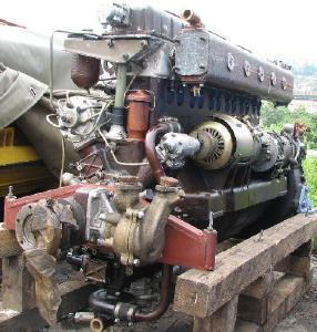 Дизельные двигатели - Дизельный двигатель 3Д6