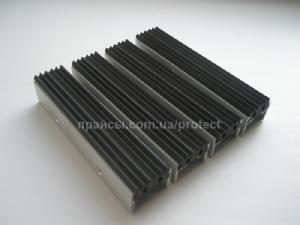 Грязезащитные решетки 15 мм и 25 мм высота профиля - Грязезащитная решетка РЕЗИН