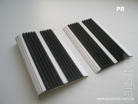 Противоскользящие накладки на ступени, ширина 48 мм, 80 мм - Противоскользящие н