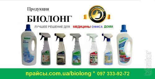 Дезинфицирующее, моющее средство - Биолонг Украина - Дезинфицирующие, моющие сре