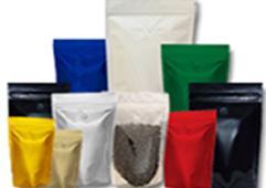 Готовые металлизированные пакеты дой-пак (разноцветные) с  замком  zip-lock - Ме