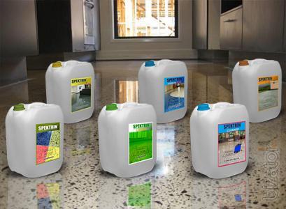 Пропитки-упрочнители ТМ «SPEKTRIN®» предназначены для упрочнения бетонных поверх