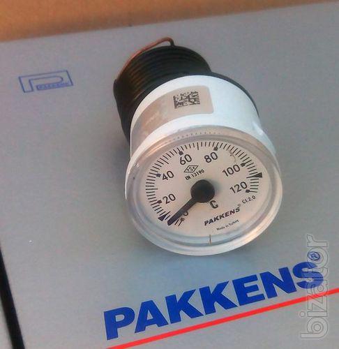 Термометр - термометр капиллярный 40мм 120С Pakkens