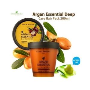 Средства по уходу за волосами - крепляющая маска для волос Nature Republic Argan