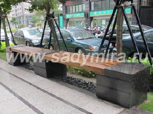 Мебель садовая/уличная - Скамейки уличные