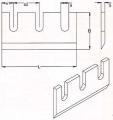 Ножи корообдирочные длиной от 80 мм до 420 мм