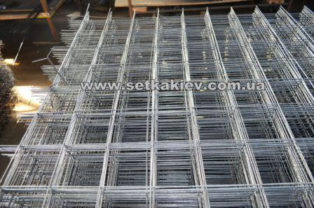 Сетка для отсечки бетона 12х12х1 - Сетка анкерная 100х100х3