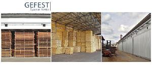 GEFEST DKT - cушильные камеры для быстрой и качественной сушки древесины до тран