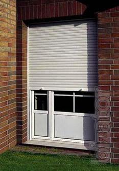 Защитные роллеты на двери. - Роллеты на двери