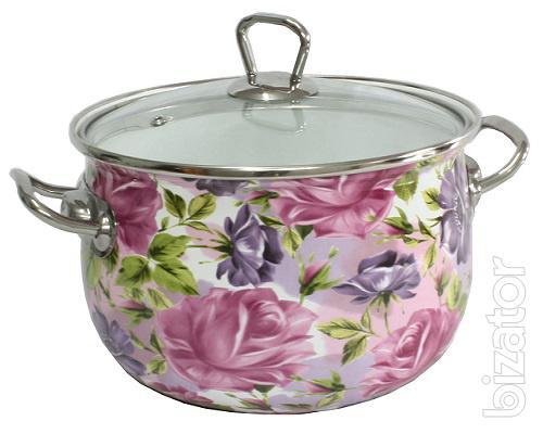Товары для дома - посуда и бытовая техника - Эмалированная посуда