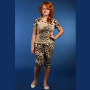 Женская одежда - Пижама женская с бриджами ПБЖ-1